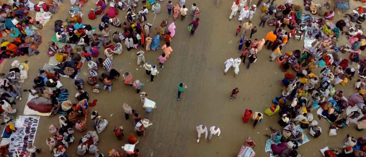 Kumbh Mela, millions of people, Allahabad, India, Sangam, Pilgrimage, walking, colours, incredible india